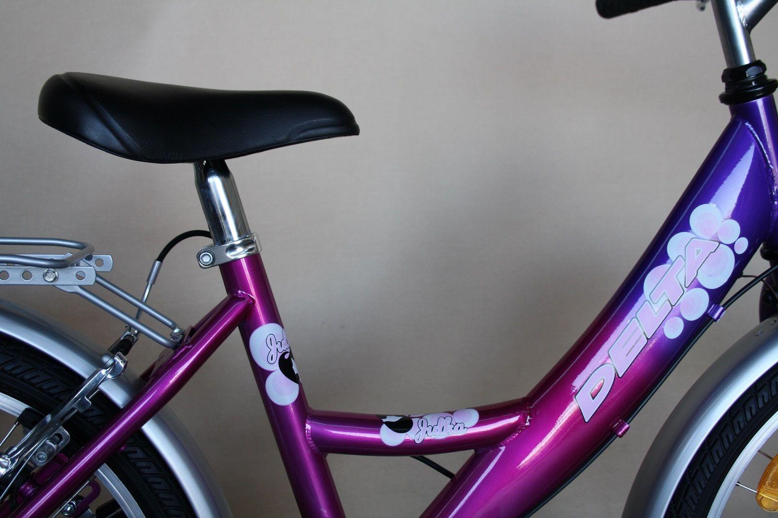fahrrad m dchenfahrrad neu 20 zoll shimano 6 gang lila pink licht stvo ebay. Black Bedroom Furniture Sets. Home Design Ideas
