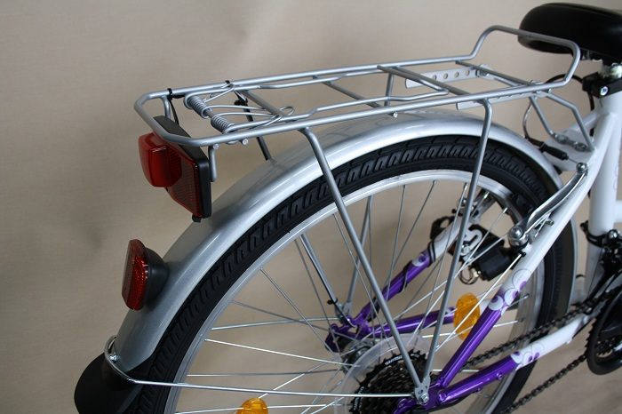 fahrrad kinderfahrrad damenfahrrad stvo beleuchtung 26 shimano 18 gang lila ebay. Black Bedroom Furniture Sets. Home Design Ideas
