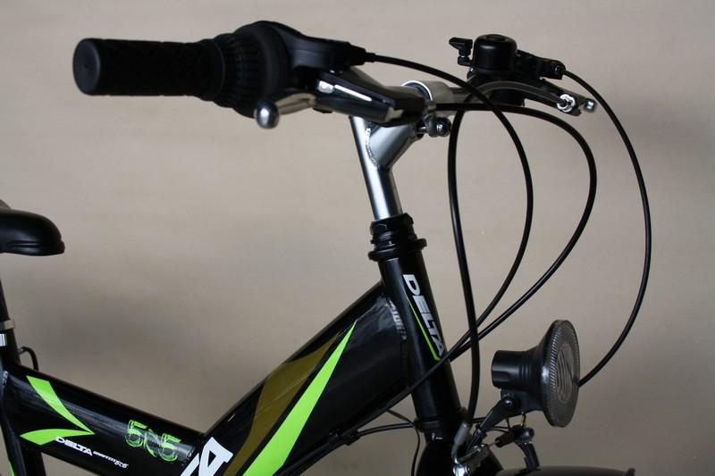 20 Zoll Fahrrad Jungen Rad neu mit Shimano 6 Gang 446 Schwarz Licht STVO